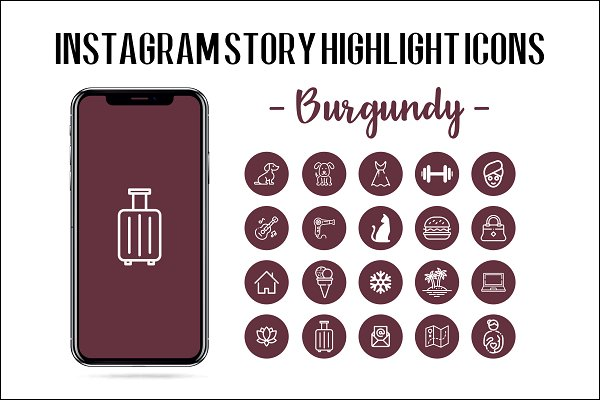Download Instagram Story Highlight Icon
