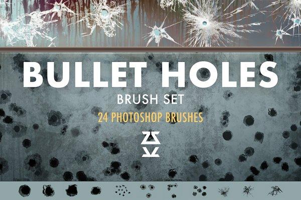 Download Bullet Holes Brush Set