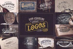 Download 19th Century Vintage Logos