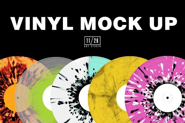 Download 11/26 Vinyl Mockup