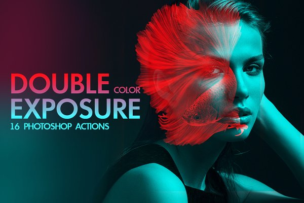 Download Color Double Exposure Ps Actions