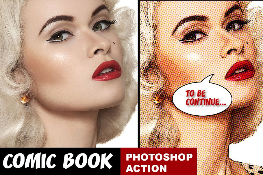 Download Comic Book Photoshop Action