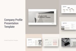 Download Company Profile PowerPoint Template