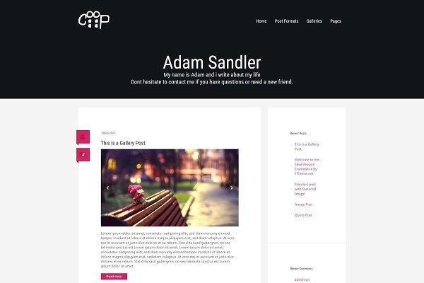Download Coop - WordPress Blogging Theme