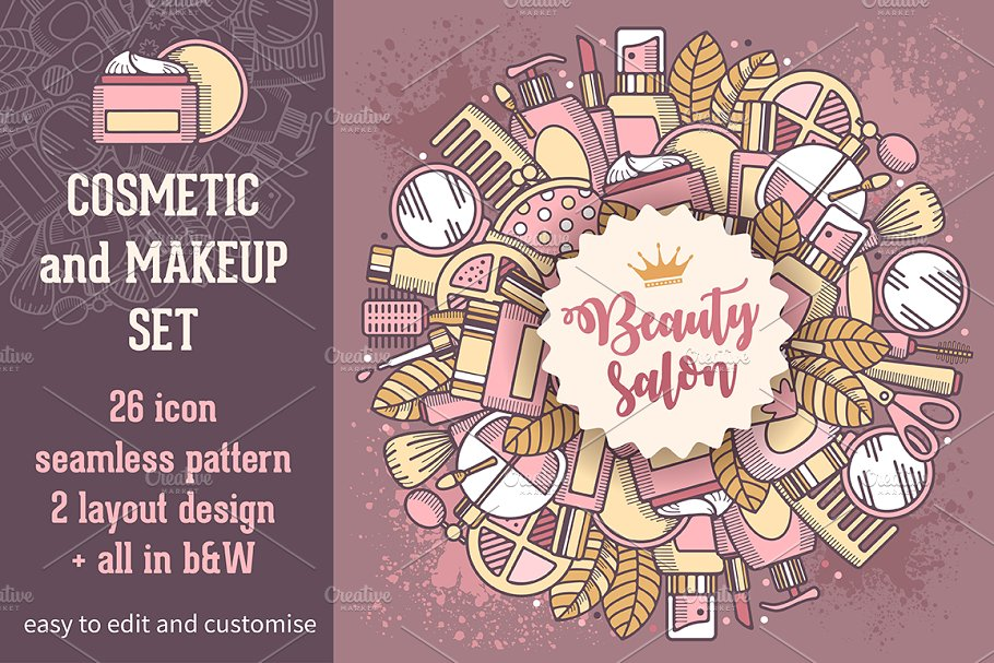Download Cosmetic and make-up set