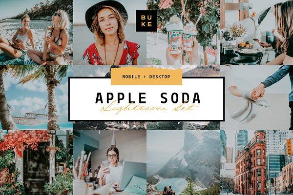 Download Apple Soda Lightroom Preset