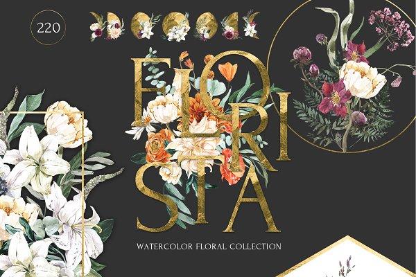 Download FLORISTA Huge Floral Collection
