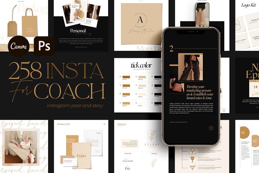 Download Branding Coach Instagram   CANVA PS