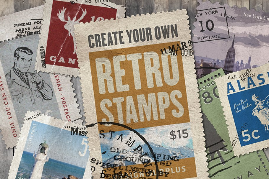 Download Old Stamping Ground - Smart PSD