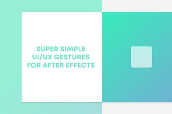 Download After Effects Gesture Animations