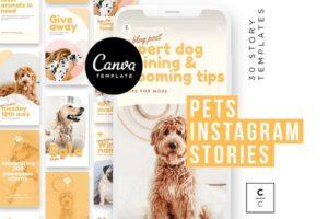 Download Pets Instagram Story Posts
