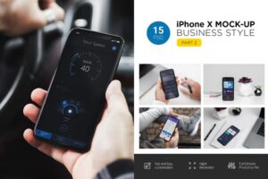 Download iPhone X Mock-Up (Part 2)