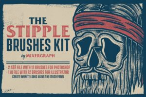Download The Stipple Brushes Kit