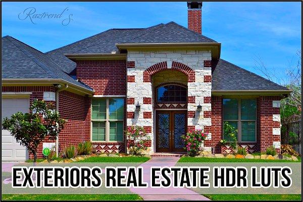 Download Exteriors Real Estate HDR LUTs