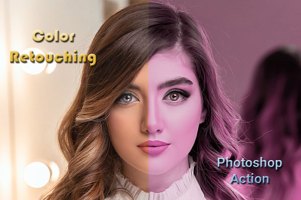 Download Color Retouching Photoshop Action