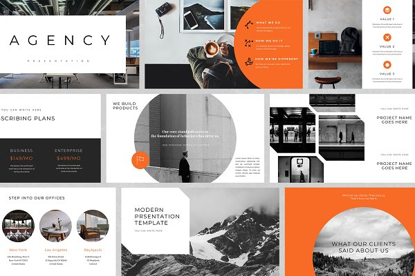 Download Agency - PowerPoint Template