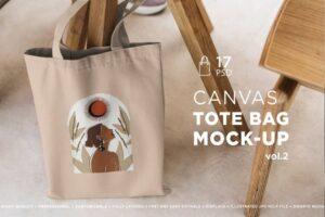 Download Tote Bag Mock-Up Lifestyle Vol.2