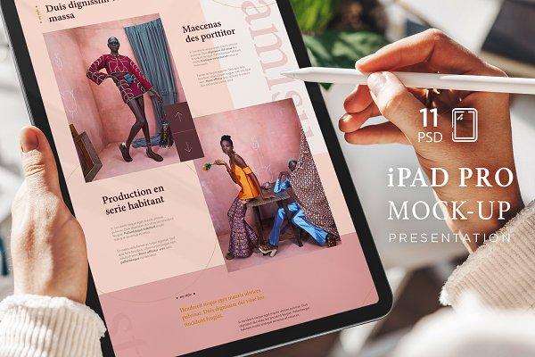 Download iPad Pro Presentation Mock-Up