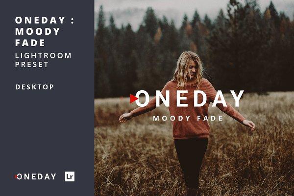 Download Oneday : Moody Fade Lightroom preset