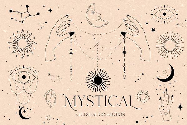 Download MYSTICAL - celestial sun moon magic
