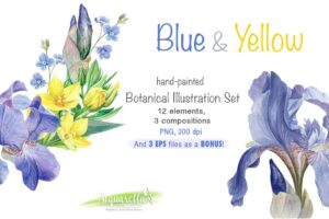 Download BLUE & YELLOW set