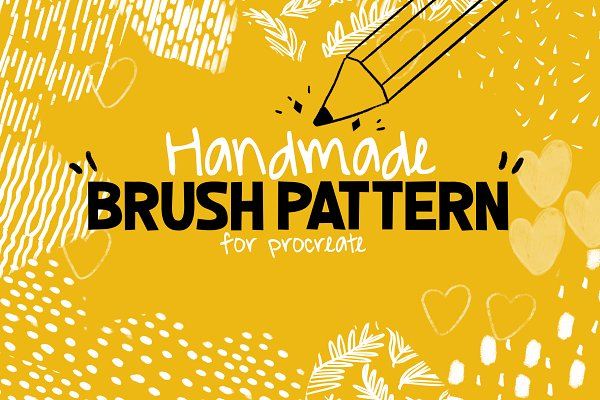Download Handmade Brush Pattern - Procreate