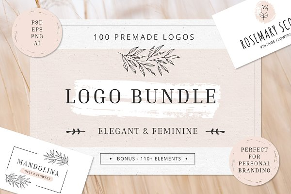 Download Logo Bundle for Personal Brand