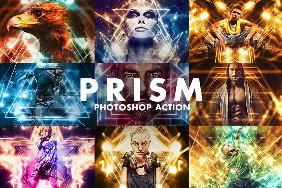 Download Prism Photoshop Action