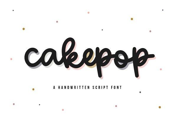 Download Cakepop   Handwritten Script Font