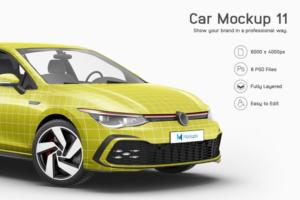 Download Car Mockup 11