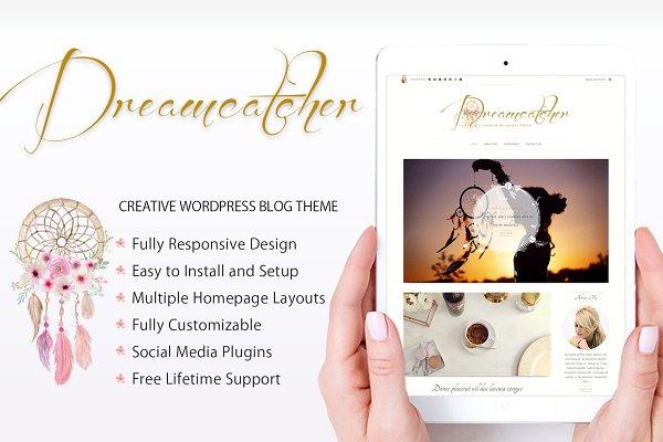 Download Dreamcatcher Creative Blogging Theme