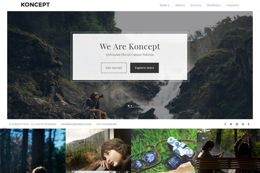 Download Koncept - Photography / Portfolio
