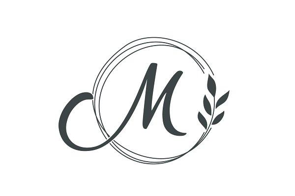 Download Creative Luxury Letter M Logo Design