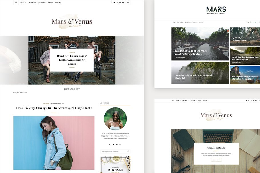 Download Mars & Venus: Multi-Concept Blog