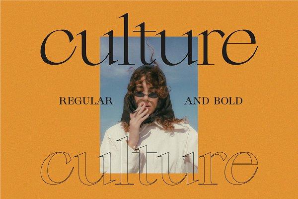 Download Culture - Modern Serif Font