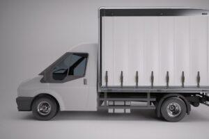 Download Curtain sided Transit Van