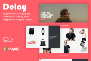 Download Delay Clothing Shop Shopify Theme