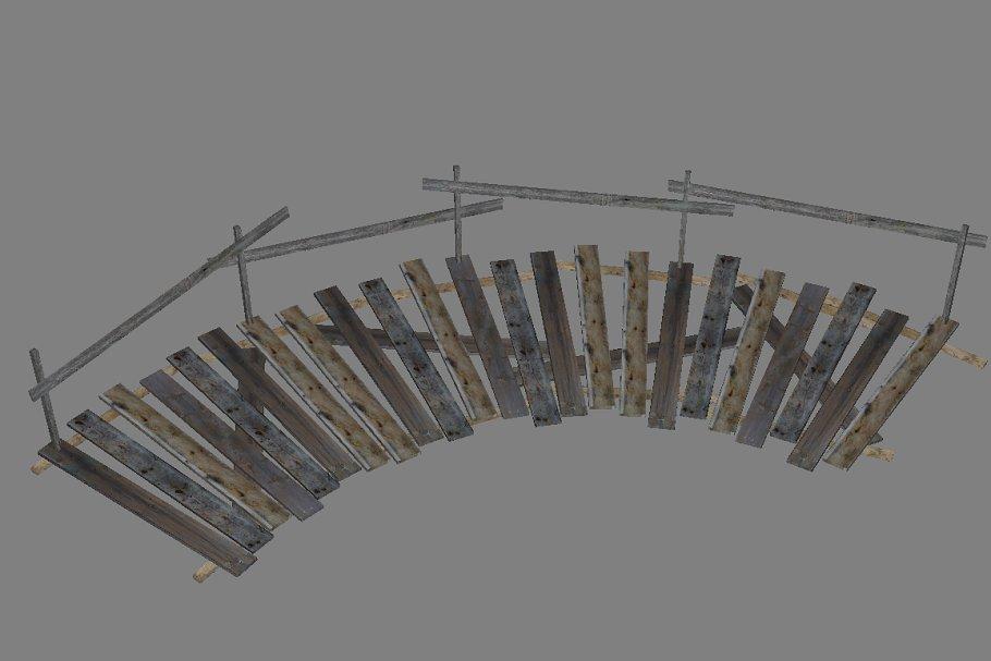 Download Wood_Bridge_Curve_Left_3