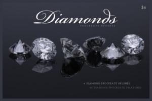 Download Diamonds Procreate Brushes