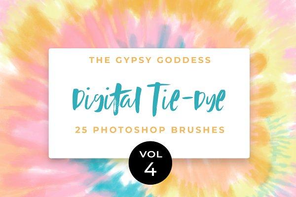 Download Digital Tie-Dye Brushes Vol 4