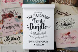 Download Font Bundle (Graptail) - 93%OFF