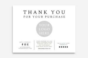 Download Small Business Thank You Card