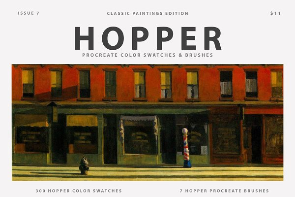 Download Hopper's Art Procreate Brushes
