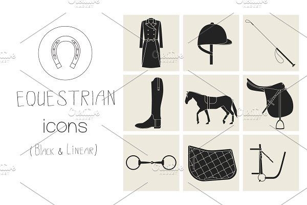 Download Equestrian icons