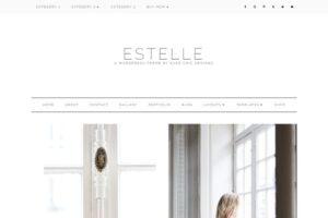 Download Estelle Feminine Wordpress Theme