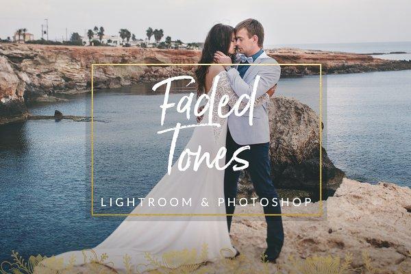 Download Faded Tones Wedding Preset LR & PS