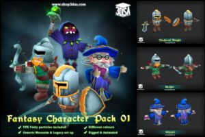Download Fantasy Character Pack 01