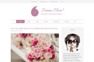 Download Femme Flora WordPress Feminine Theme