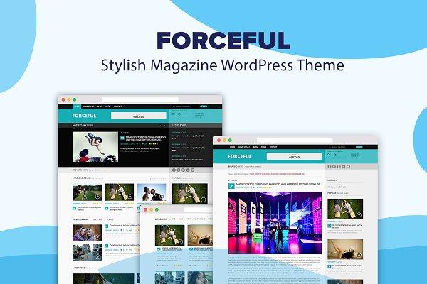 Download ForceFul- Stylish Magazine WordPress