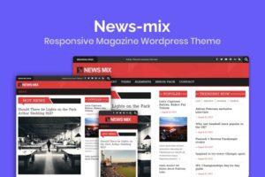 Download News-mix Magazine Wordpress Theme